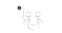 applicazione maschere cosmetiche viso monouso: step 4, rimuovere la maschera