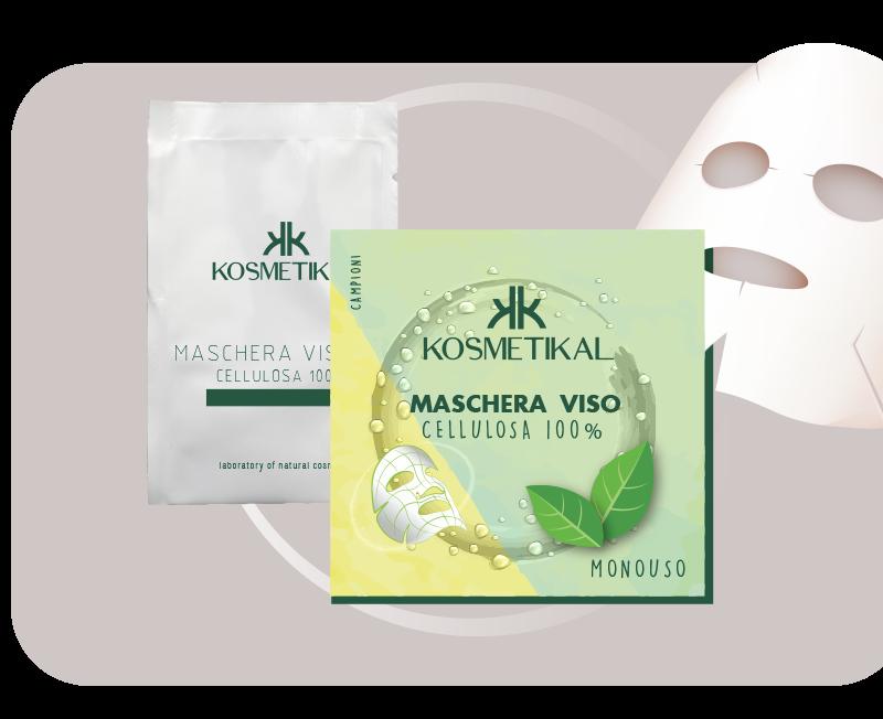 Produzione maschere viso monouso in Cellulosa 100% naturale